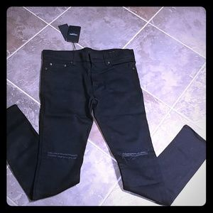 """Saint Laurent Paris Black Jeans """"Prototype"""" 32"""